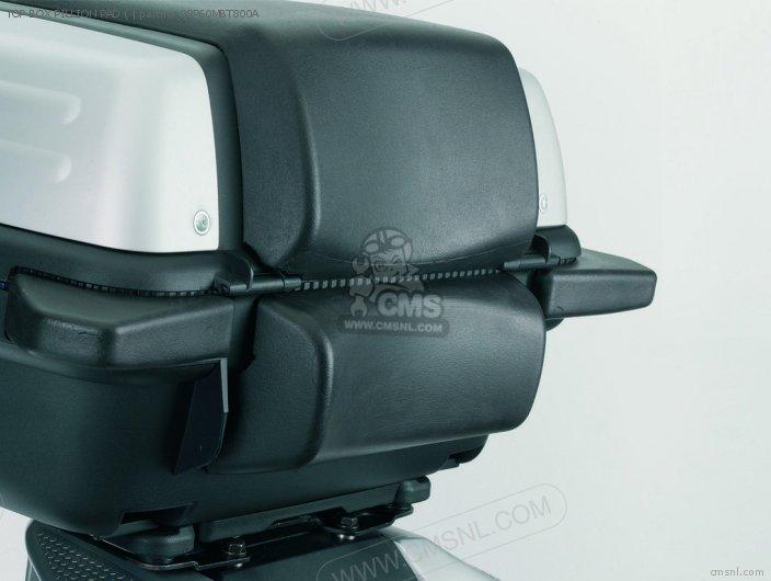 Xl1000v Varadero 2007 7 08p60-mbt-801a Top Box Pillion Pad