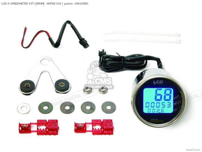(09-01-0062) LCD A SPEEDMETER KIT (55MM)  APE50/100