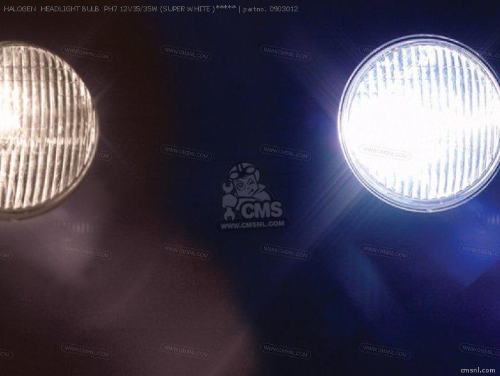 (09-03-0103) HALOGEN  HEADLIGHT BULB  PH7 12V35/35W (SUPER WHITE