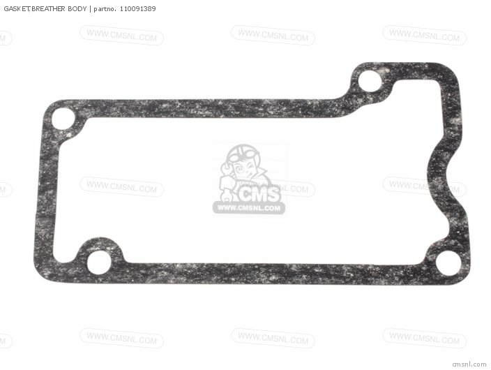 Zg1000a1 1000gtr 1986 Europe Fr Uk Fg Gr It Nr Sd Sp St 110091861 Gasket breather Body
