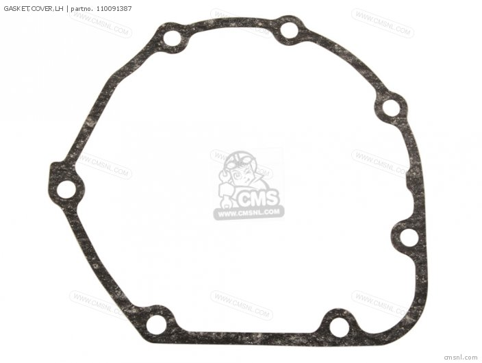 Zg1000a1 1000gtr 1986 Europe Fr Uk Fg Gr It Nr Sd Sp St 110091863 Gasket cover lh