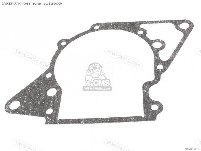 Fl250 Odyssey 1979 z Usa 11191-950-306 Gasket crank Case
