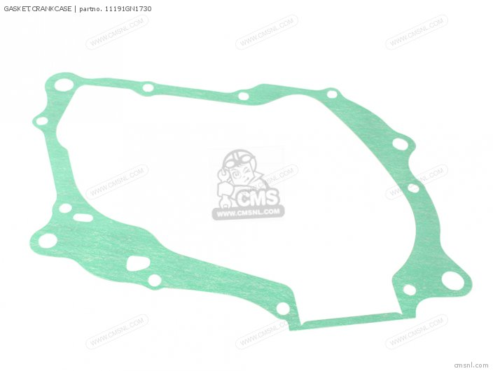 Xl80s 1981 Usa 11191-gn1-731 Gasket crankcase