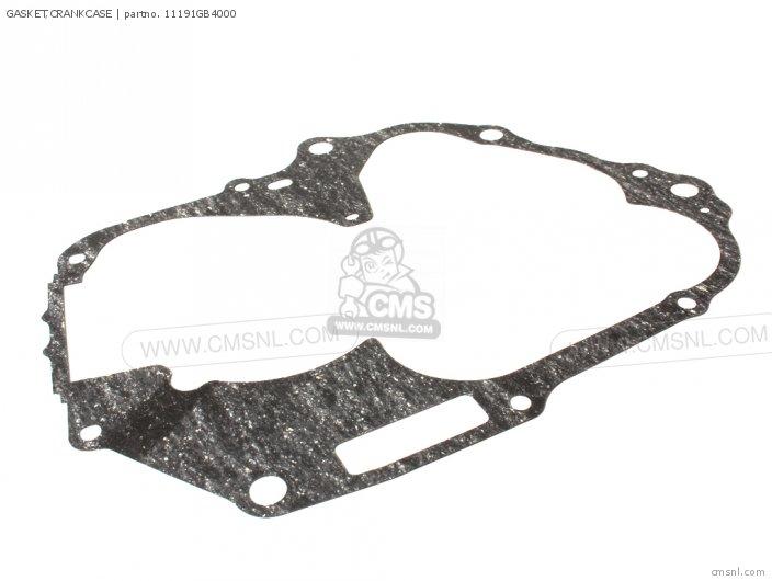 C100m2 Astrea Indonesia 11191-gw8-681 Gasket crankcase