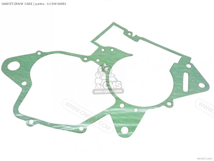 Cr125r 1990 Usa 11191-kz4-620 Gasket crank Case