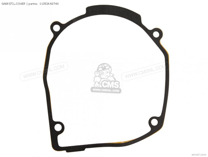 Cr125r 1985 Usa 11352-ka3-760 Gasket l cover