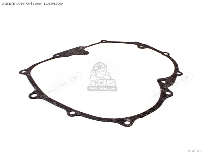 Trx200d Fourtrax 1997 European Direct Sales 11393-hf1-910 Gasket r Crank Ca