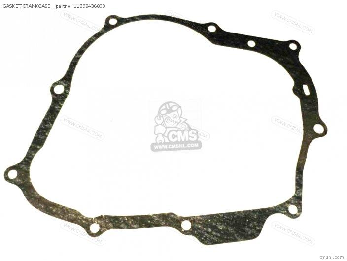 Xl80s 1981 b Usa 11393-kn4-751 Gasket crankcase