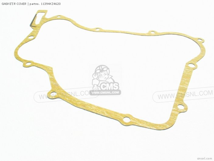 Cr125r 1990 Usa 11394-kz4-a90 Gasket r Cover