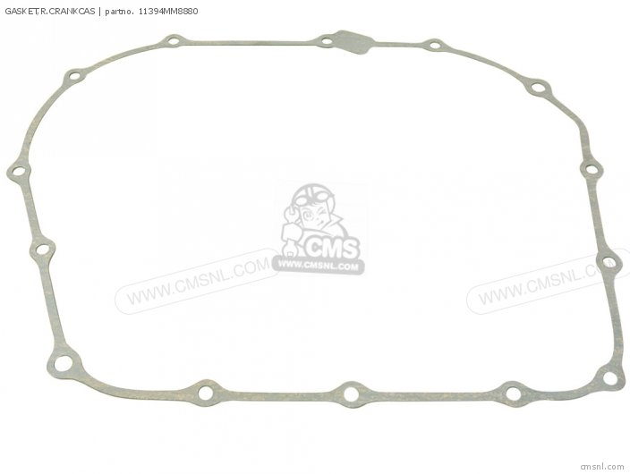 Vt1100c2 Shadow 1100 1996 Usa 11394mm8881 Gasket r crankcas