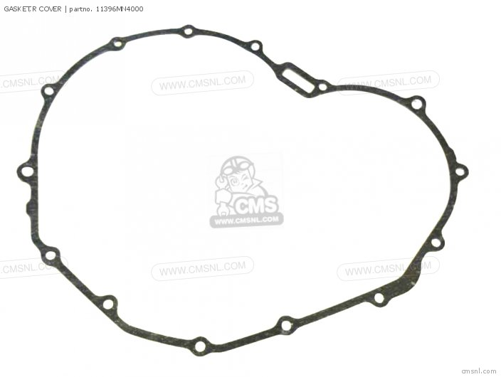 Cb400f 1990 Usa 11396-my9-010 Gasket r Cover