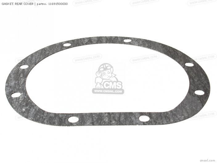 S600 Convertible General Export As285 11691-500-s00 Gasket  Rear Cover