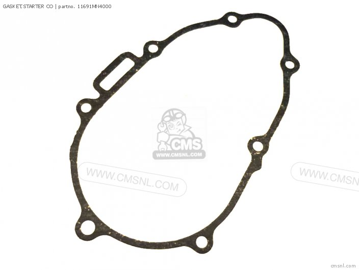 Cb400f 1990 Usa 11691my9010 Gasket starter Co
