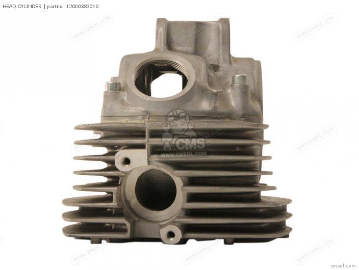 CB125S 1978 USA 12000-383-305 HEAD CYLINDER