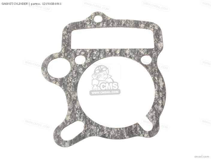 Crf50f 2005 European Direct Sales 12191-gs4-761 Gasket cylinder