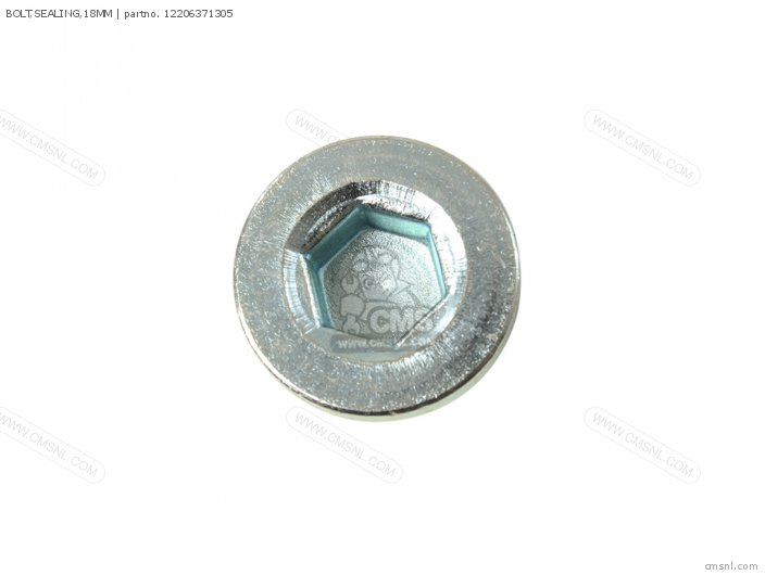 (12206ML8300) BOLT,SEALING,18MM