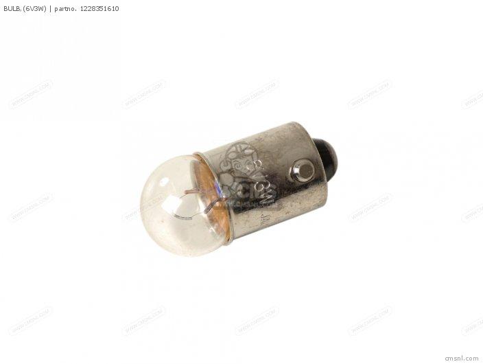 Dt125 1978 Usa 1228351610xx Bulb 6v3w