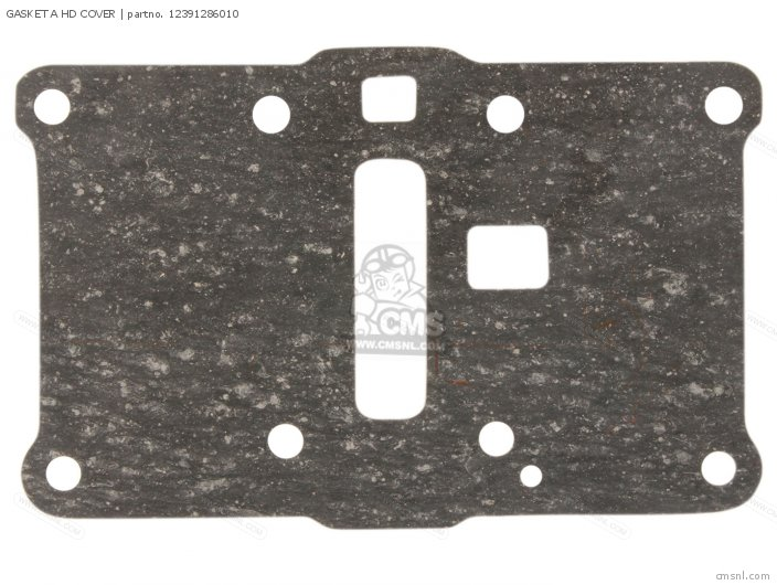 12391286690 GASKET A HD COVER