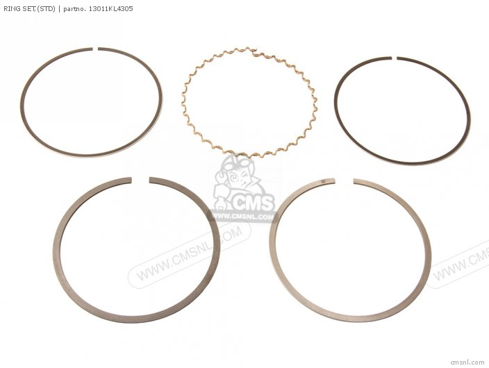 (13011-MS6-305) RING SET,(STD)