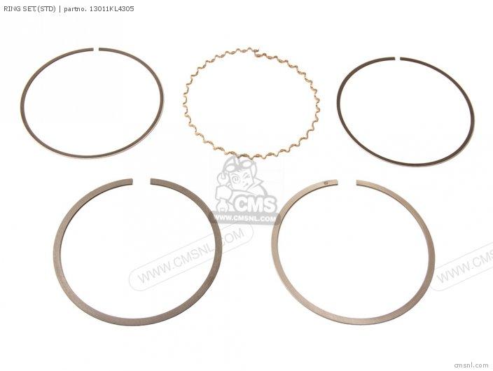 (13011-MS6-305) RING SET,(STD)