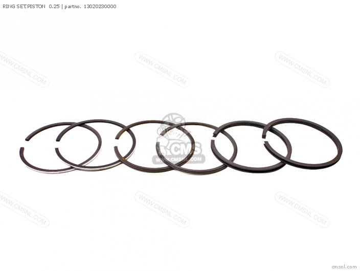 (13012399003) RING SET,PISTON