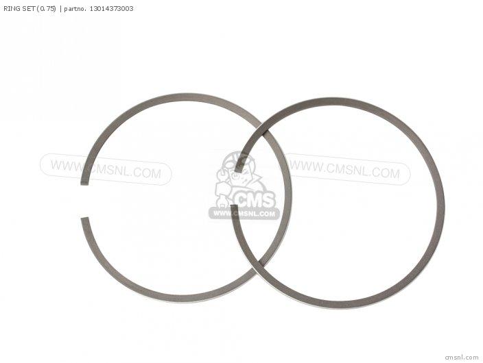 (13014-373-015) RING SET (0.75)