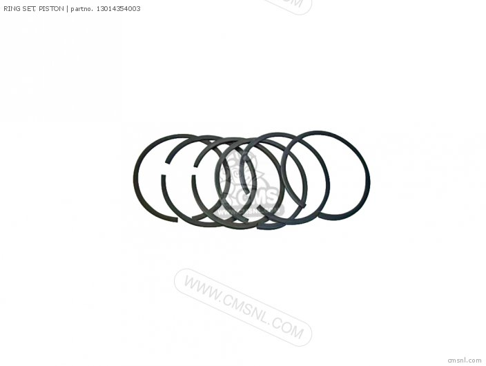(13014354305) RING SET, PISTON