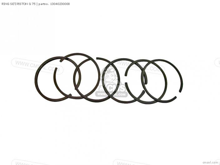 Cd125a 13014399003 Ring Set piston