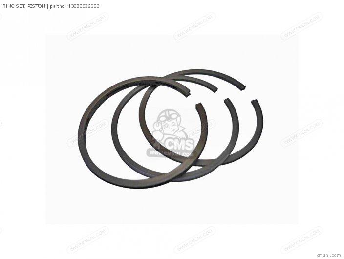 C50 Cub 1969 France 13030036015 Ring Set  Piston