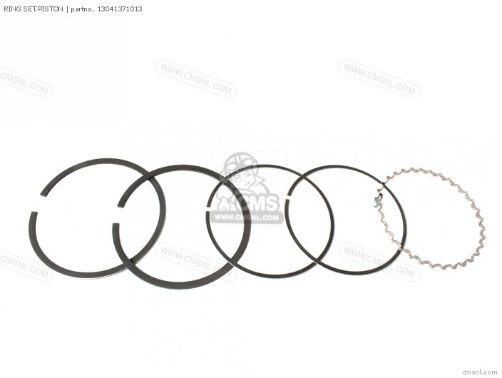 (13041371014) RING SET,PISTON