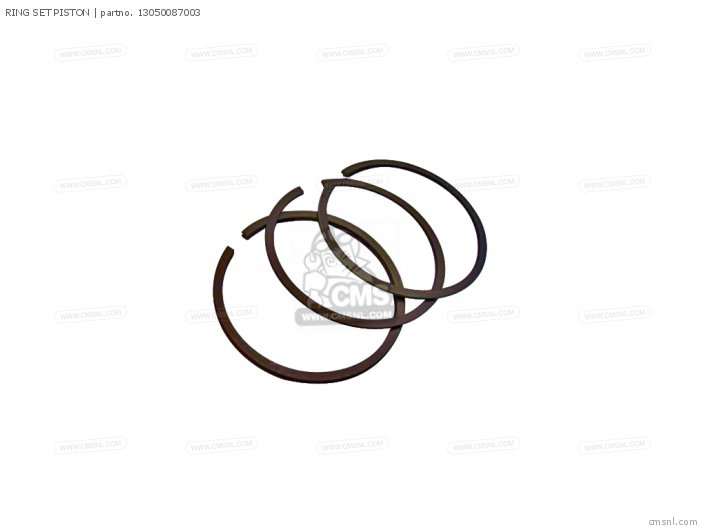 (13050087013) RING SET PISTON