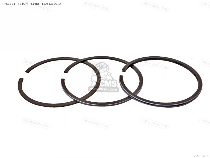 (13051287305) RING SET, PISTON