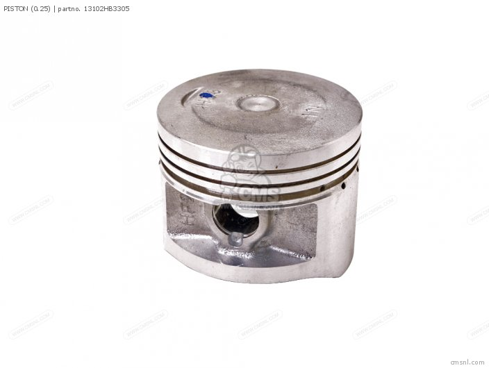Trx200d Fourtrax 1997 European Direct Sales 13102-hf1-670 Piston 0 25