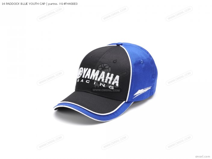 14 Paddock Blue Youth Cap photo