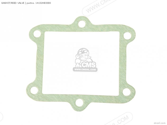 Fl350r Odyssey 350 Usa 14132he0p00 Gasket reed Valve