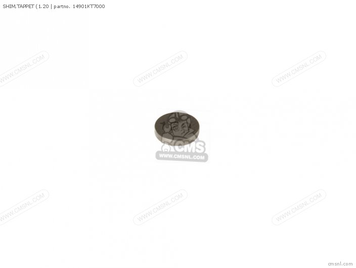 (14901-KT7-013) SHIM, TAPPET (1.20