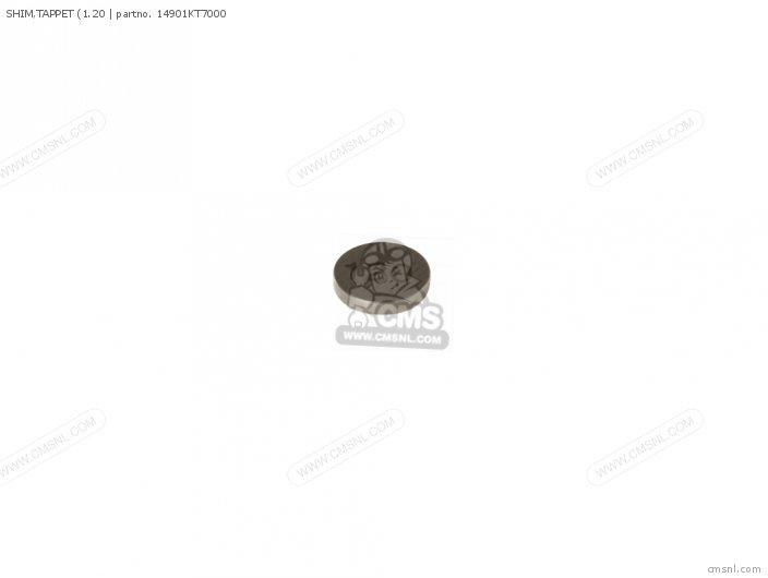 (14901KT7010) SHIM, TAPPET (1.20