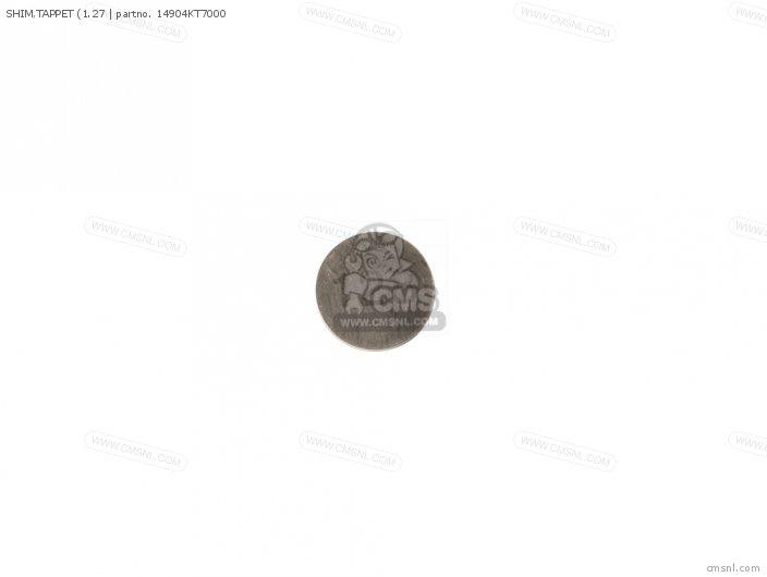 (14904-KT7-013) SHIM, TAPPET (1.27