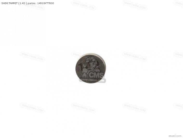 (14910-KT7-013) SHIM, TAPPET (1.42