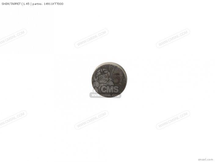 (14911KT7010) SHIM, TAPPET (1.45