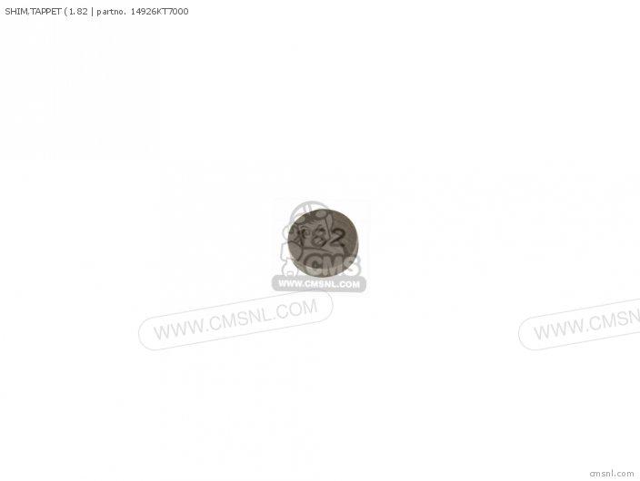 (14926-KT7-013) SHIM, TAPPET (1.82