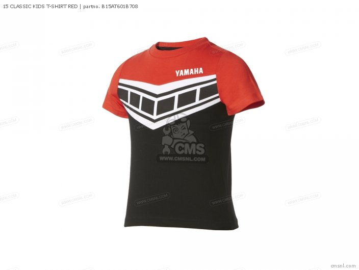 Apparel 15 Classic Kids T-shirt Red