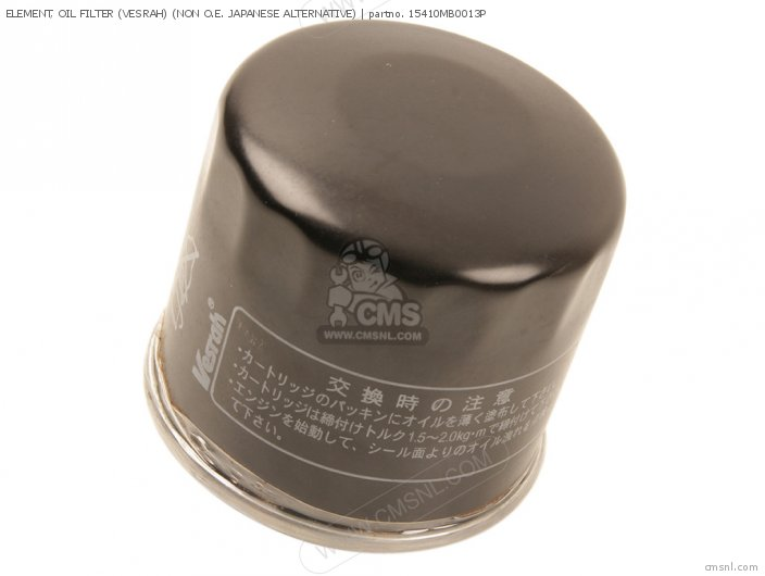 (15410-MB0-003P) ELEMENT, OIL FILTER (VESRAH) (NON O.E. JAPANESE