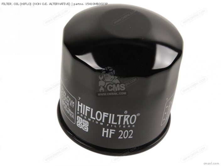 (15410-MB0-003P) FILTER, OIL (HIFLO) (NON O.E. ALTERNATIVE)