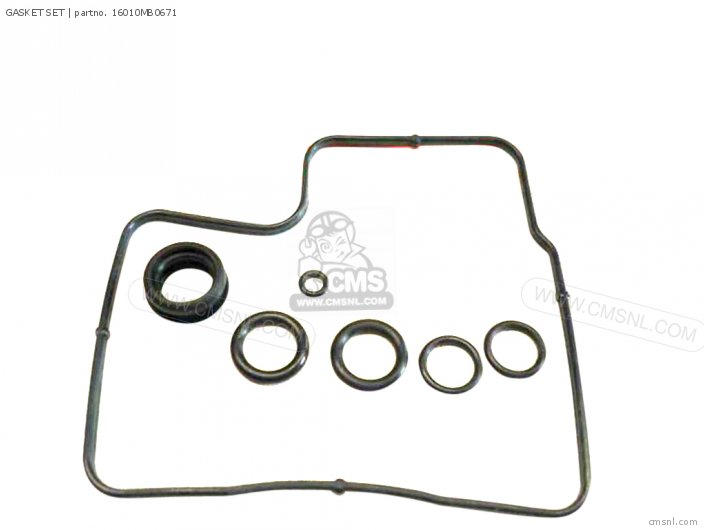 (16010-mb0-505) Gasket Set photo