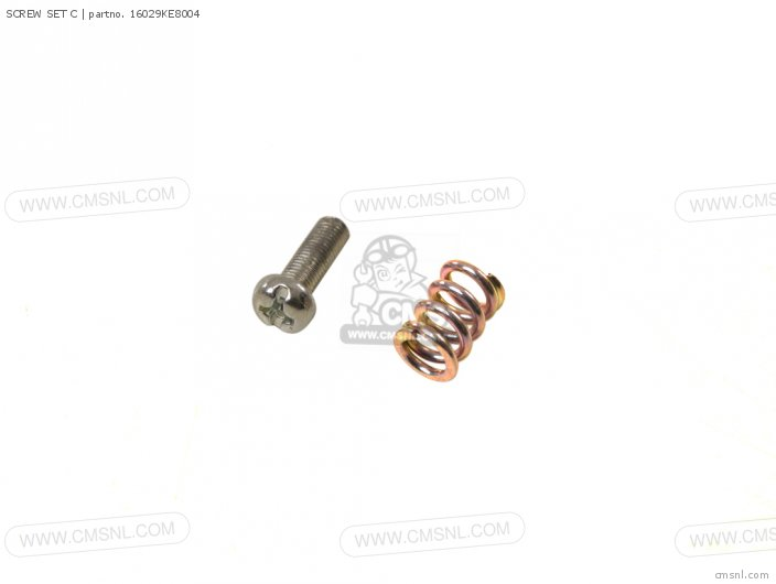 (16029KEJ900) SCREW SET C