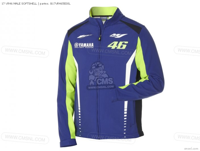 17 VR46 MALE SOFTSHELL