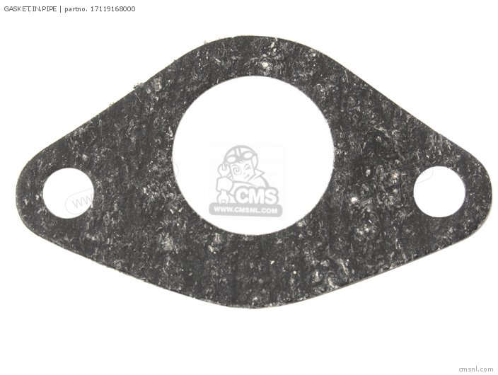 Crm75r 1989 k Spain 17119168306 Gasket in pipe