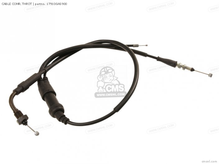 (17910-GAS-901) CABLE COMP.,THROT
