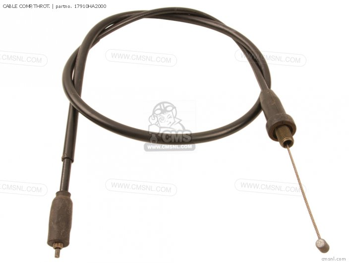 (17910-HA2-010) CABLE COMP,THROT.